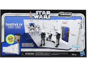 Star Wars Vintage Tantive Iv Corridor Diorama Diorama Hasbro