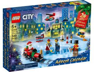 LEGO CITY 60303 - CALENDARIO DELL'AVVENTO CITY SCATOLA ROVINATA