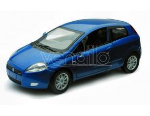 New Ray NY71046BL FIAT GRANDE PUNTO 2005 BLUE 1:24 Modellino