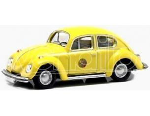 Bub 09500 Volkswagen Beetle Maggiolino giallo 1302 1:87 Modellino