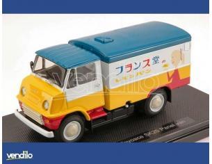 Ebbro 44570 TOYOPET TOYOACE SK20 PANEL VAN 1959 BLUE/YELLOW/WHITE 1:43 Modellino