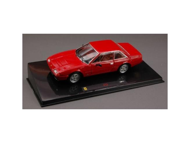 Hot Wheels HWN5595 FERRARI 412 1985 RED 1:43 Modellino Teca Rovinata