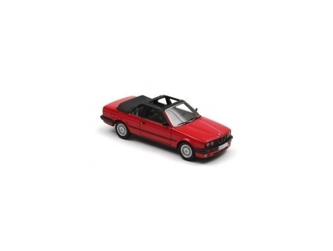 Neo 43293 BMW 325I E30 BAUR CABRIO ROSSA 1:43 Modellino